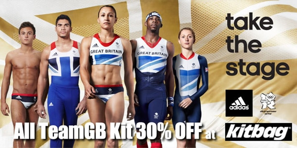 Get 30% OFF Official adidas London 2012 Kit here