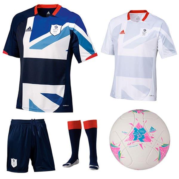 TeamGB Official adidas Replica Football Kit