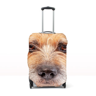 Pet Head Case - Personalised Pet Luggage Cover (L - (Cases 76-81cm tall))