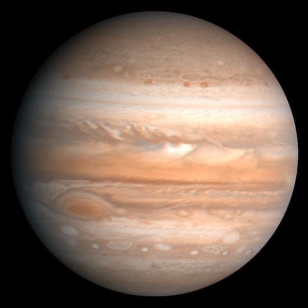Jupiter as imaged by Voyager in 1979