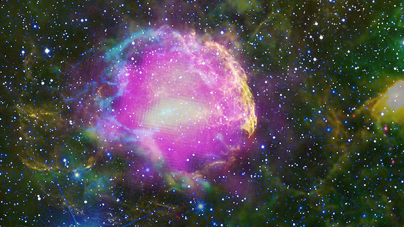 IC 443, viewed through Fermi gamma-ray space telescope