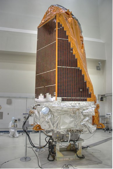 Kepler being prepared in the clean room at Astrotech prior to launch on March 6, 2009. Credit: nasatech.net