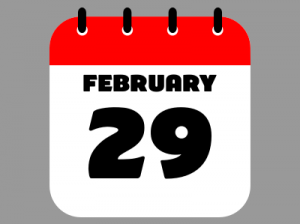 Leap Day, by Sanu N / CC BY-SA (https://creativecommons.org/licenses/by-sa/4.0)