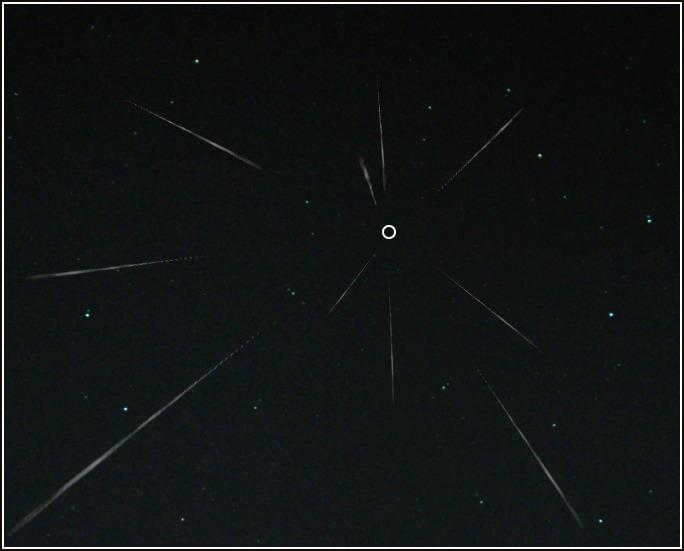 Meteor Shower Radiant