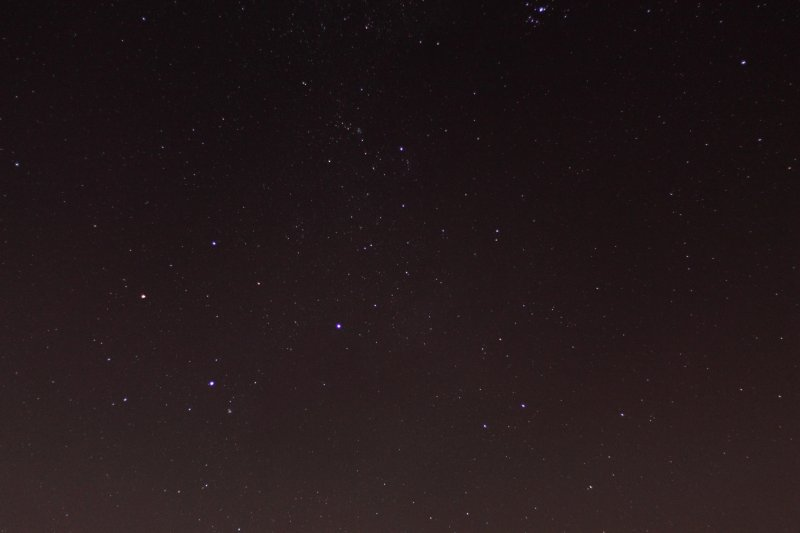 The Southern Cross and neighbours. Image by: Allen Versfeld