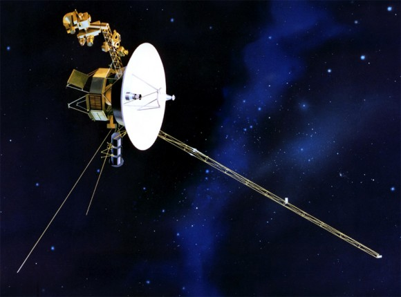 Artist's impression of Voyager 1