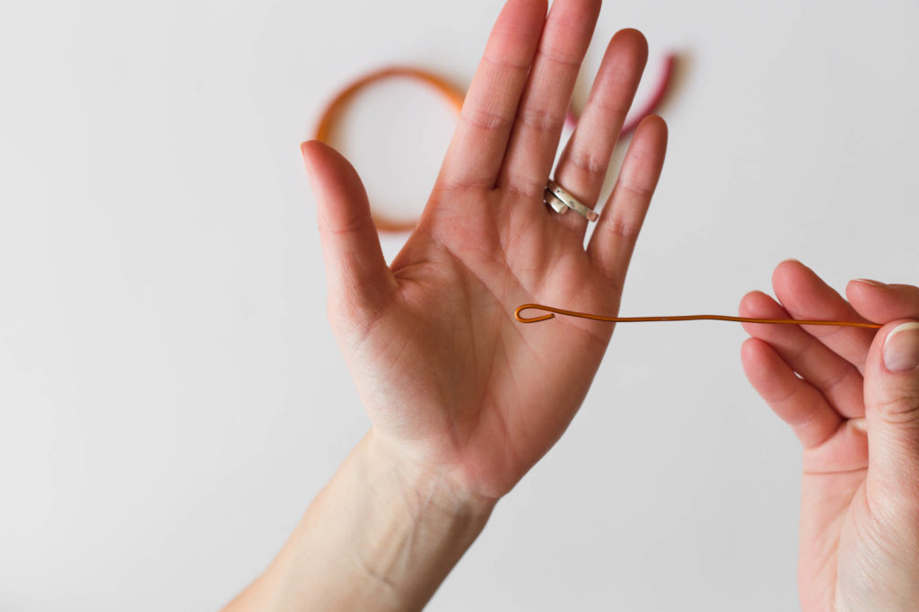 DIY - Hårband med ståltråd