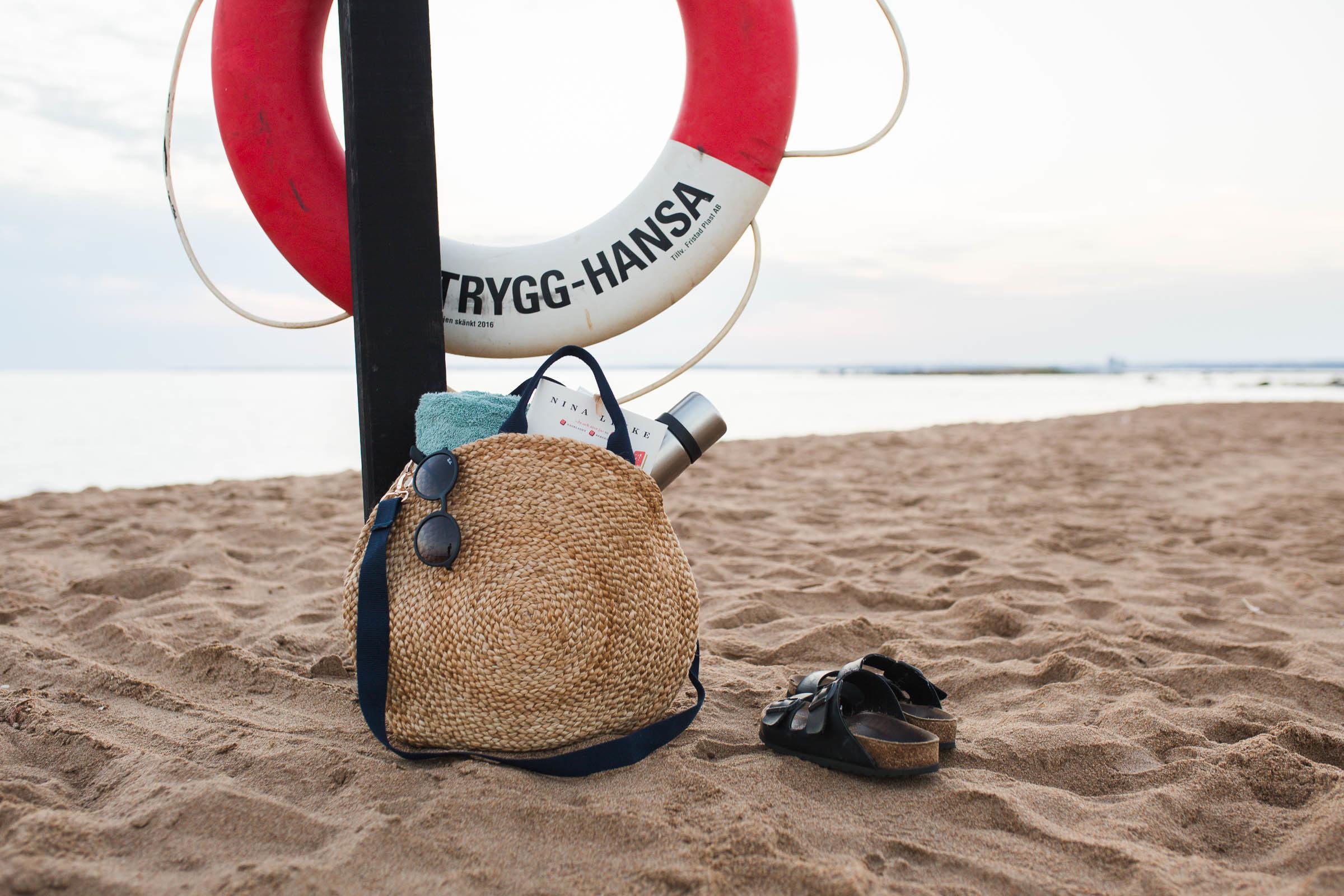 DIY - Rund stråväska