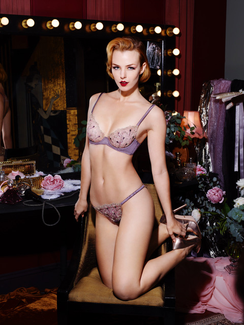 dd0baf993 Rankin Shoots Art Deco-Inspired Coco de Mer and V A Lingerie ...
