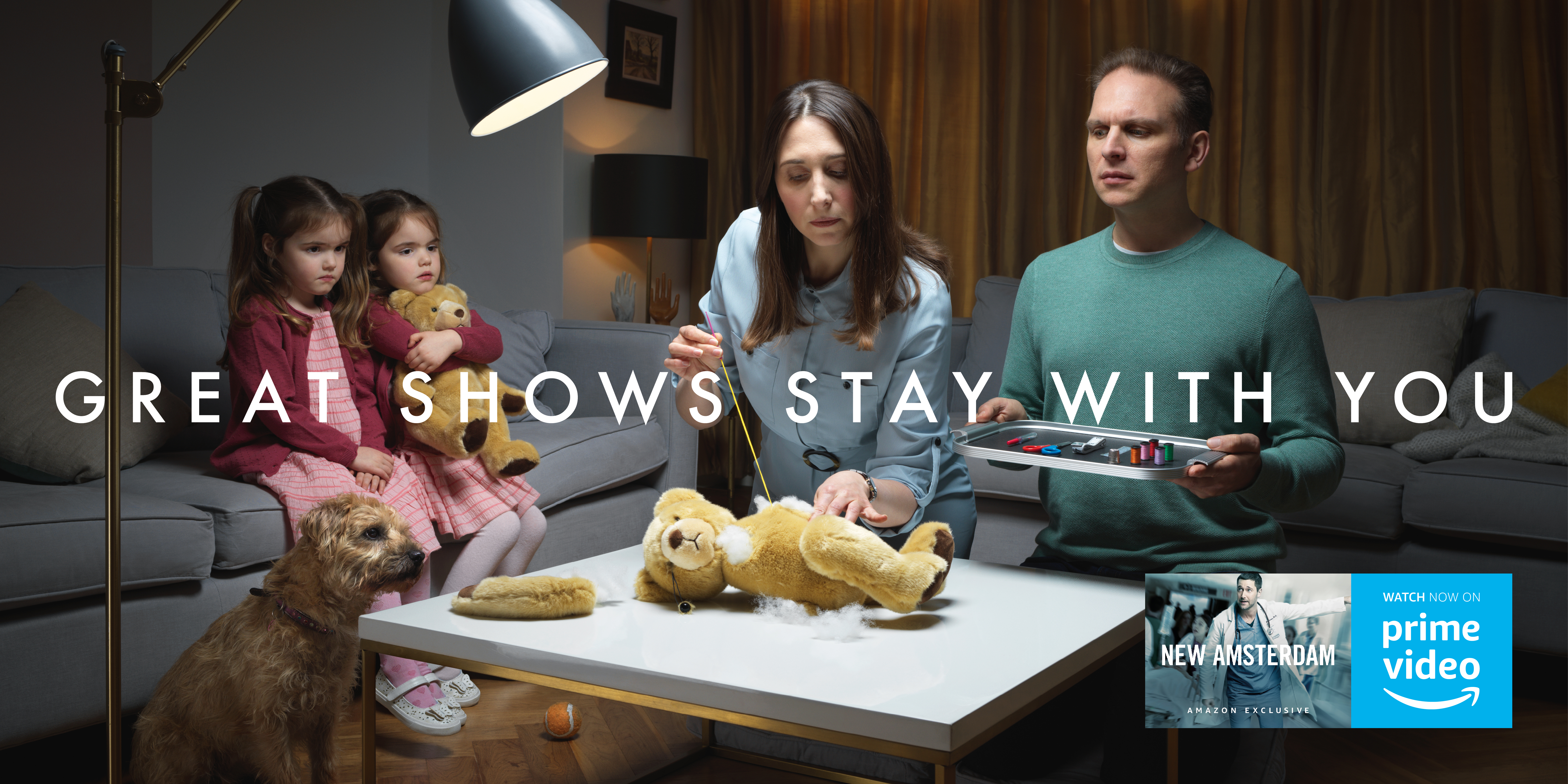 Great Shows Continue to Stay with Us in Amazon's Latest Ads