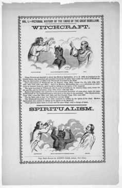 La diabolisation de la Ouija par les chrétiens