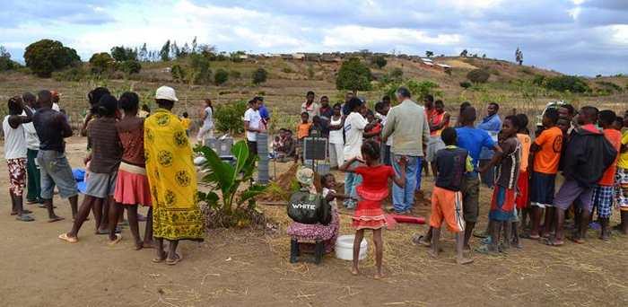 L'installation de réseaux sismiques à Mandritsara dans le nord de Madagascar