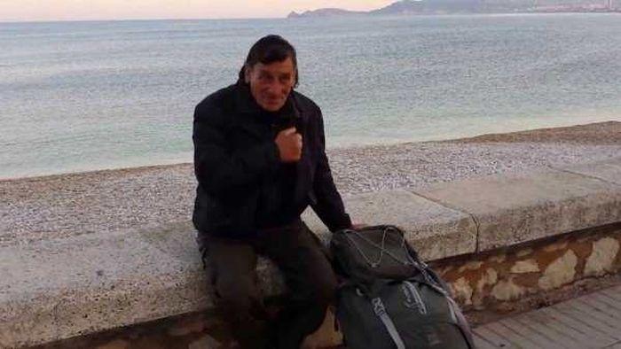 Jose Antonio Garcia, Le Pélerin, insolite