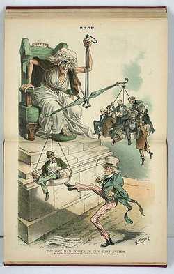 Une illustration sur le faux équilibre médiatique - Crédit : Wikimedia Commons