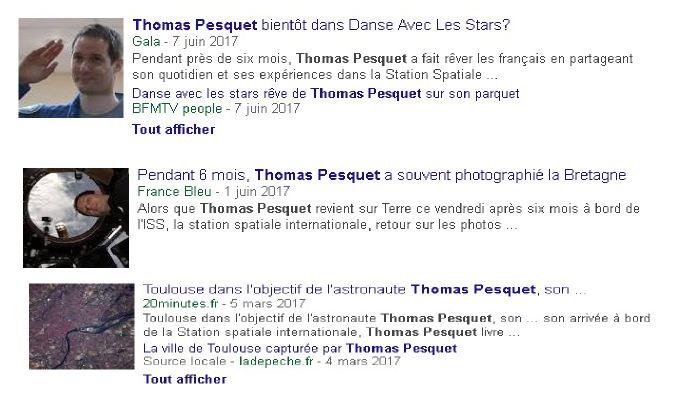Quelques médias français murmurent que la farce médiatique de Thomas Pesquet a assez duré. Il était temps qu'ils le reconnaissent, mais ce sont les médias qui ont construit ce Narcisse de l'espace à la base.