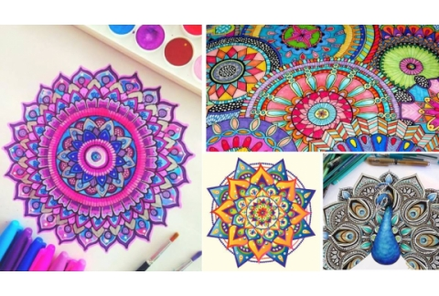 Los enormes beneficios de colorear mandalas