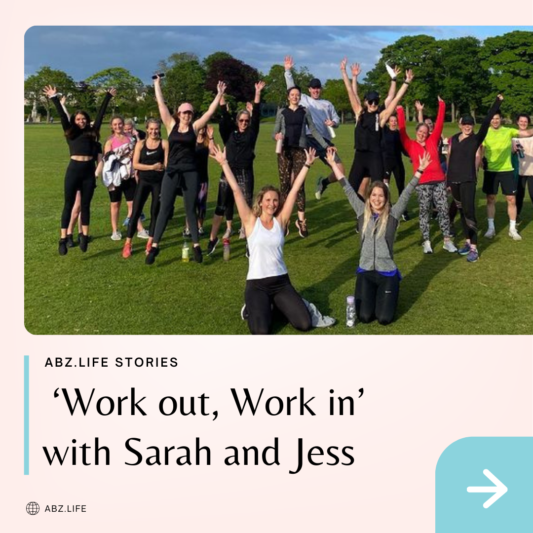 Behind the Scenes: 'Work out, Work in' with Sarah and Jess