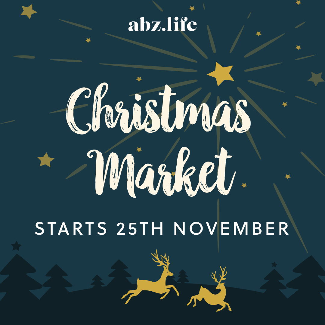 The abz.life Christmas Market is all packed up for the year
