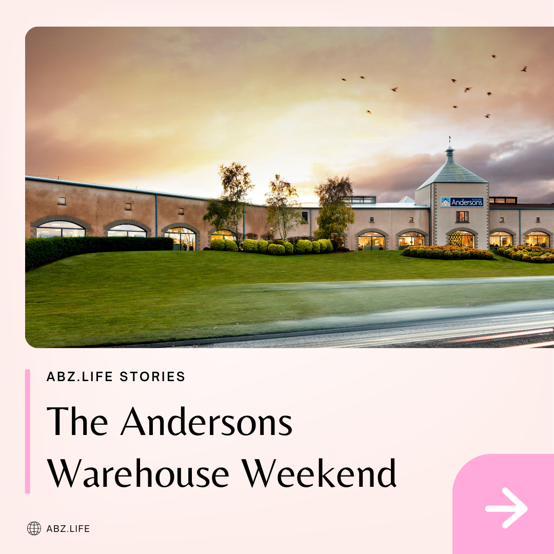The Andersons Warehouse Weekend launching this Saturday
