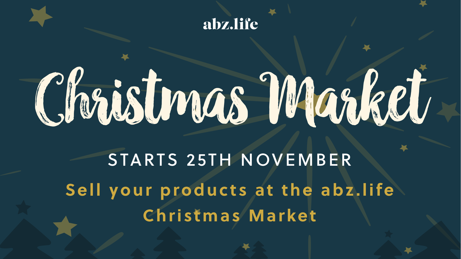 How to become a seller at the abz.life Christmas Market