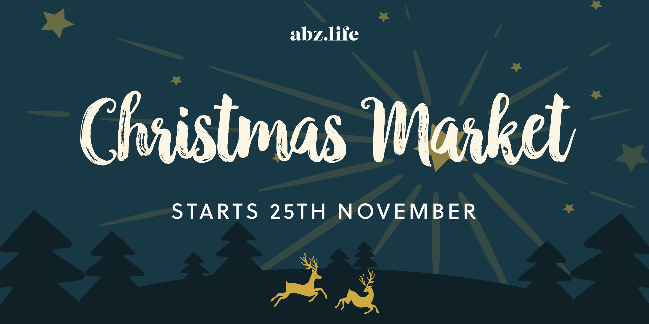 The abz.life Christmas Market is coming…