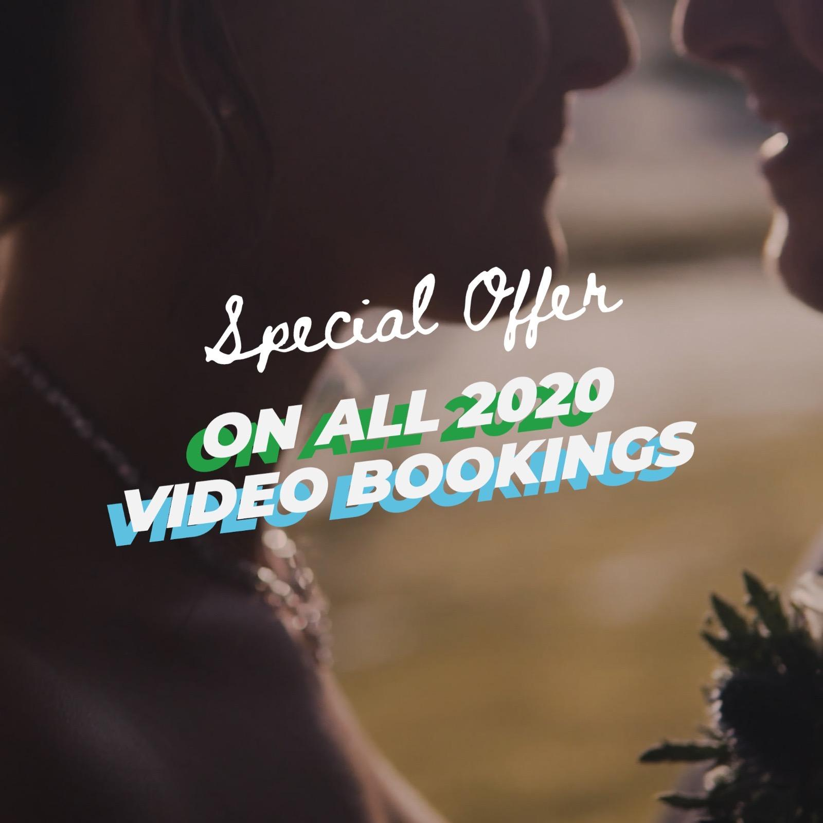 £300 off your wedding video