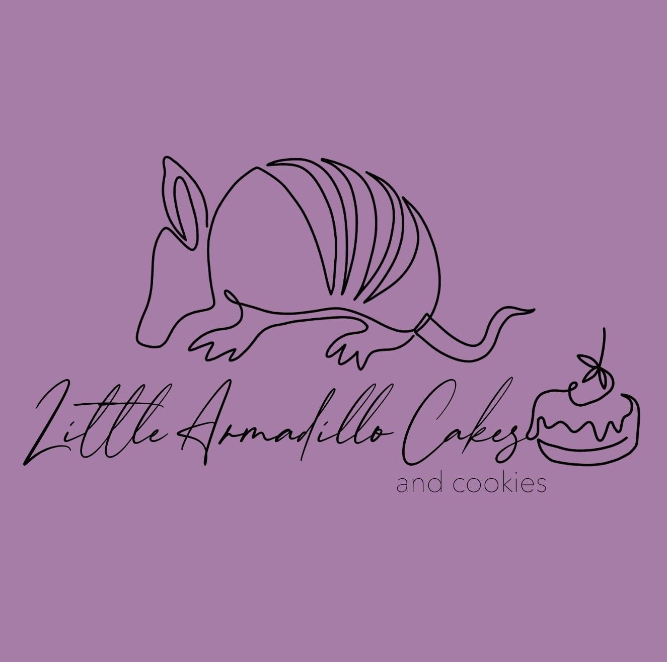 Little Armadillo Cakes