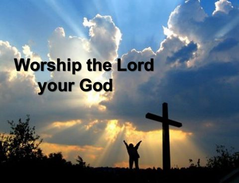 Worship the Lord in His day