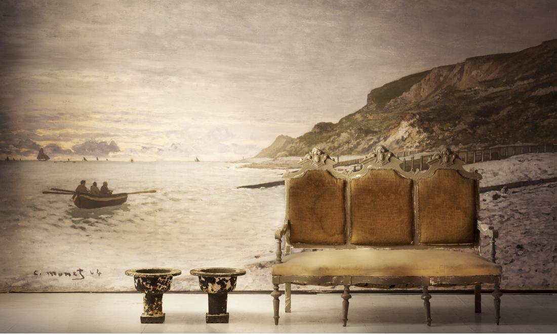 Monet_National_Gallery_Bespoke_Wallpaper