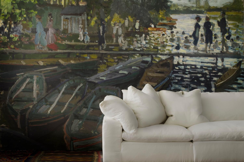 Monet_Bathers_National_Gallery_Bespoke_Wallpaper