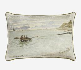 National_Gallery_Monet_Pointe_de_la_Heve_Cushion_Front