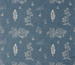Friendly_Folk_Happy_Blue_Fabric_Large