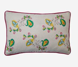 Psycho_Sprig_Tropical_Yellow_Cushion
