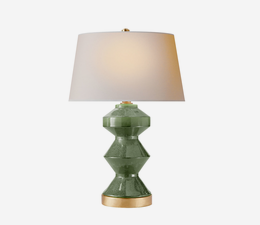 Weller_Zig_Zag_Table_Lamp_in_Kiwi_Green