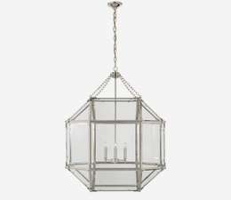Morris_Large_Pendant_in_Polished_Nickel_with_Clear_Glass