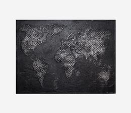 Worldmap_Steel_Artwork