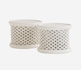 Bamileke_Stool_White_Varying_Sizes_2
