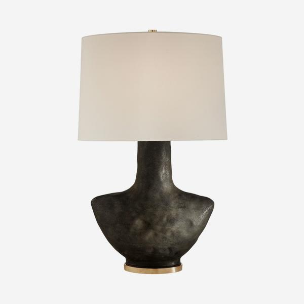 Armato_Table_Lamp_stained_black_white_linen