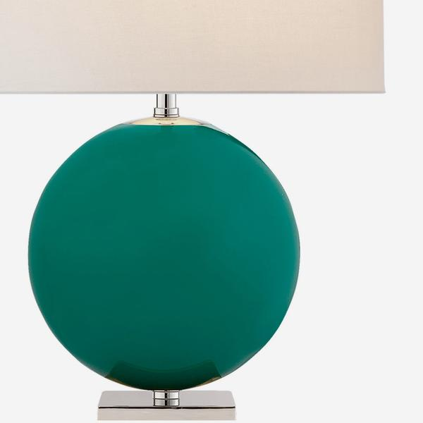 Elsie_table_lamp_turquoise_cream_shade