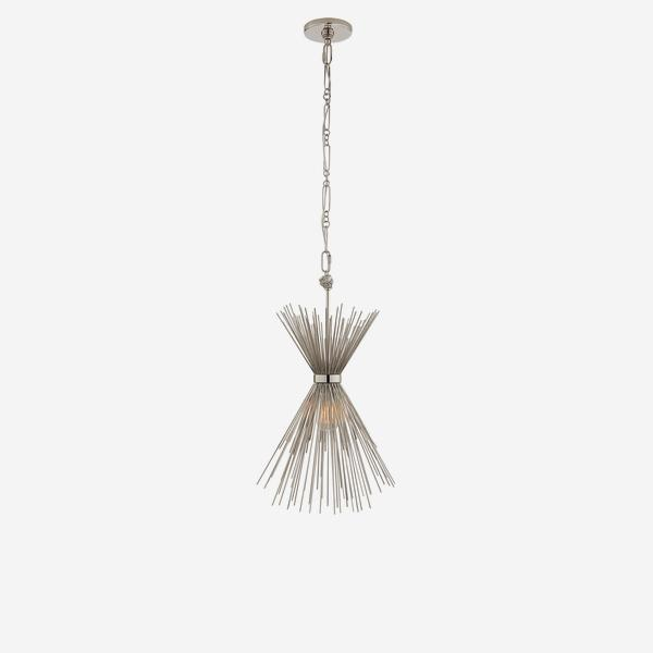 Strada_Small_Pendant_Polished_Nickel
