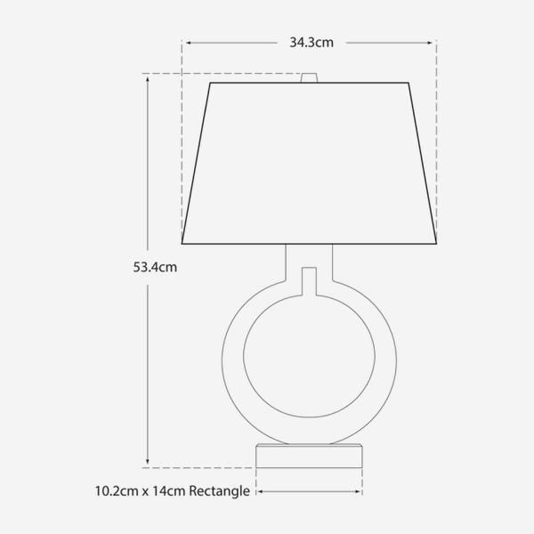 ring_table_lamp_dimensions