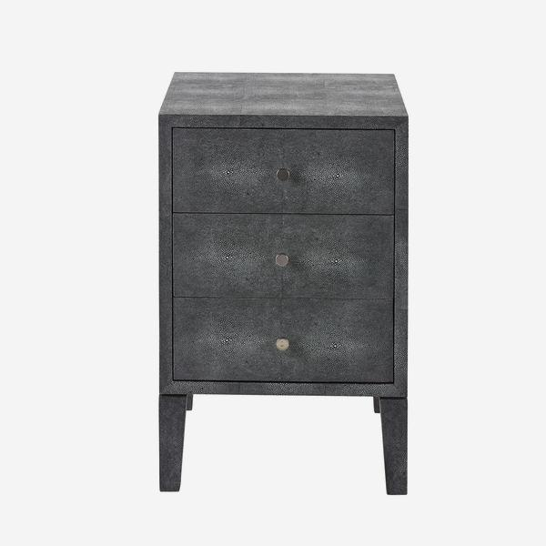 Georgia_Bedside_Table_Grey_Front_ST0377