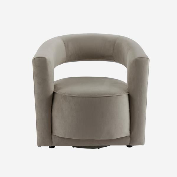 Madison_Swivel_Chair_Dove_Grey_Front