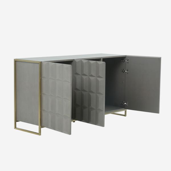 Louis_Sideboard_Angle_Open