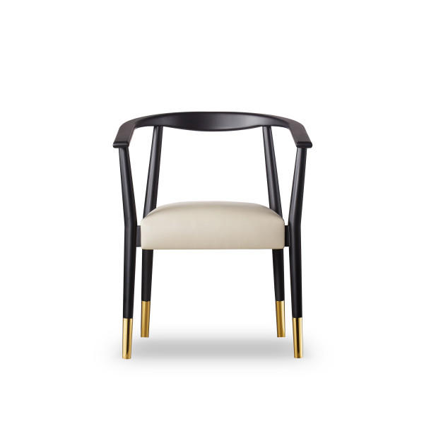 Soho_Dining_Chair_Black_Front