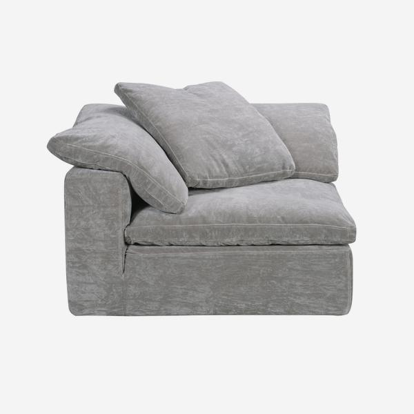 Truman_Corner_Section_Grey_Velvet_front_