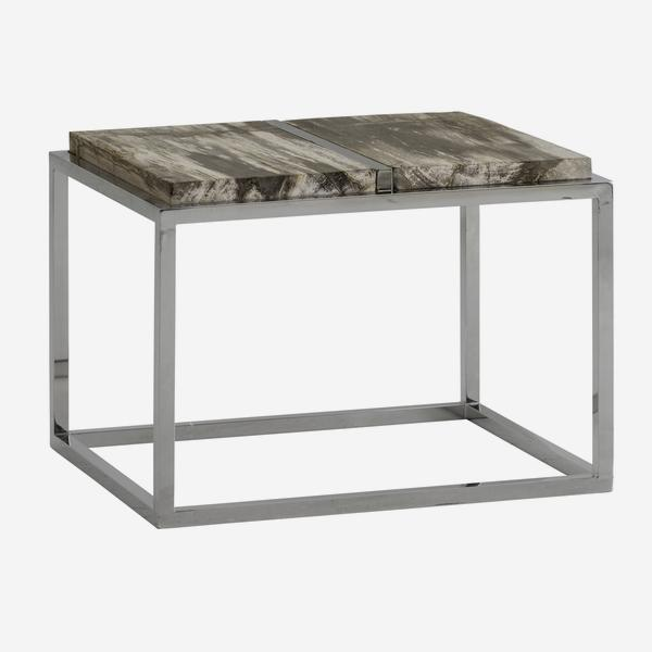 Petrified_Wood_Side_Table