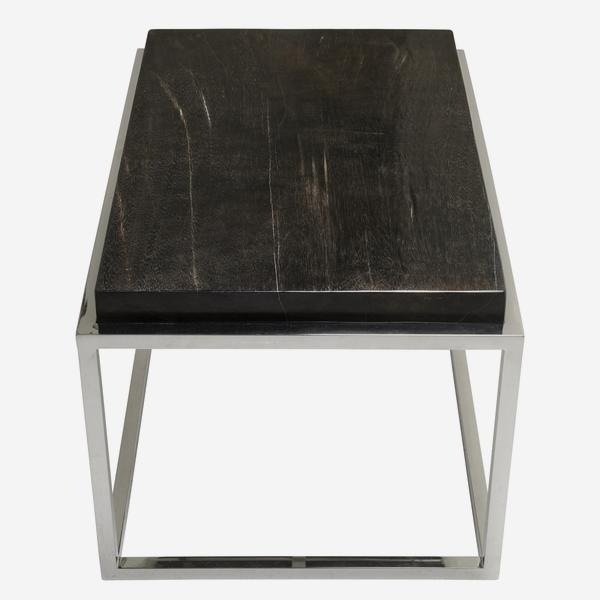 Petrified_Wood_Side_Table_Black_Top_ST0202_