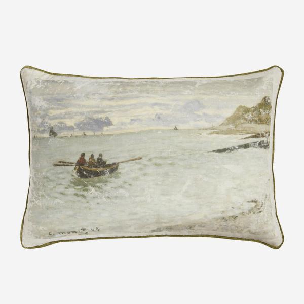 National_Gallery_Monet_Pointe_de_la_Heve_Cushion_Front