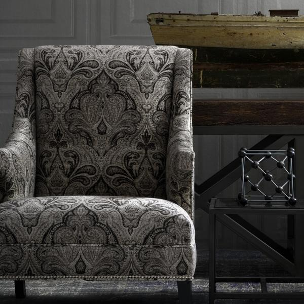 Mercury_Chair_in_Garett_Charcoal_Trianon_Cloud_Wallpaper